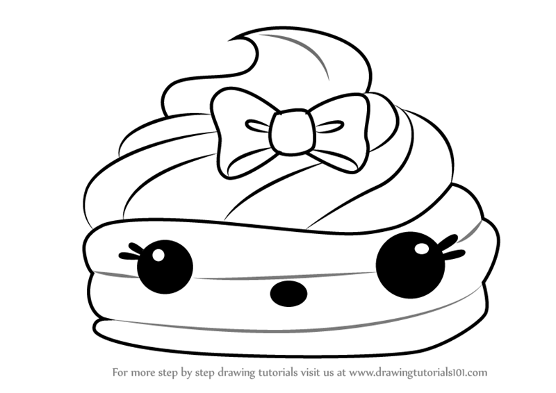 Learn How To Draw Mintee Gloss Up From Num Noms Num Noms Step By Step Drawing Tutorials Coloring Pages Drawings Free Coloring Pages