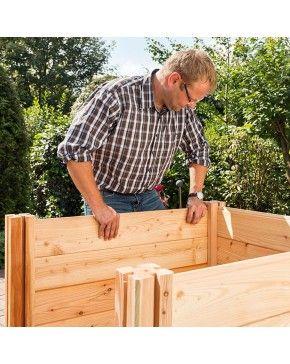 Larchenholz Hochbeet Xl Premium Erweiterbar Otto S Webshop Top Marken Zu Otto S Preisen Larchenholz Hochbeet Holz