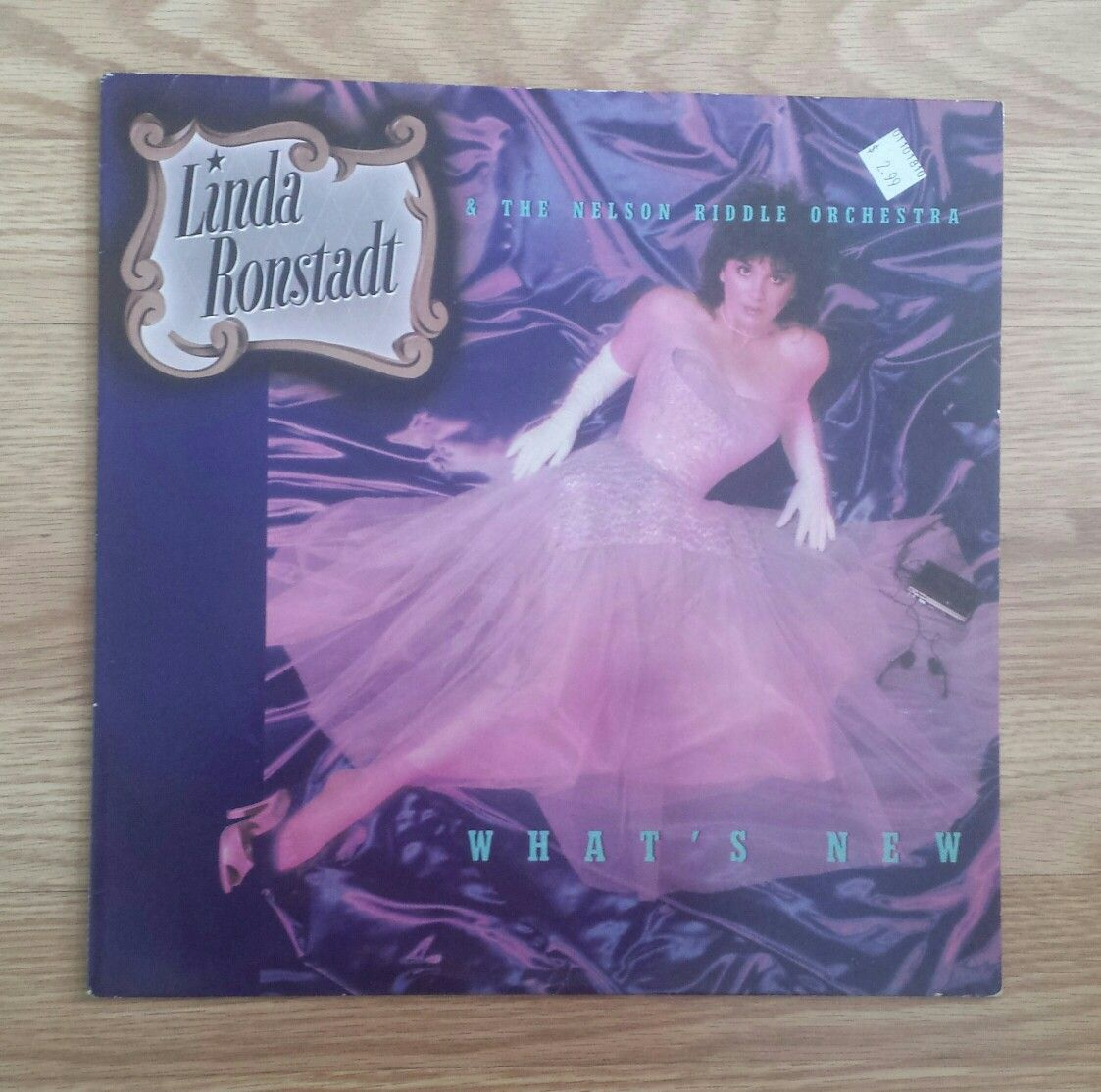 Linda Ronstadt What's New Linda ronstadt, Nelson riddle