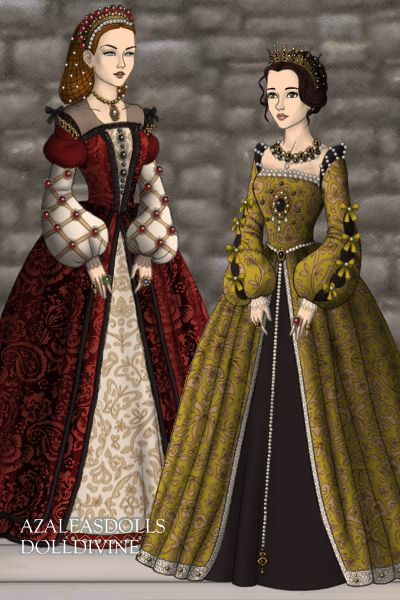 Fashions with a Foreign Flair ~ by Badalice ~ created using the Tudors doll maker | DollDivine.com