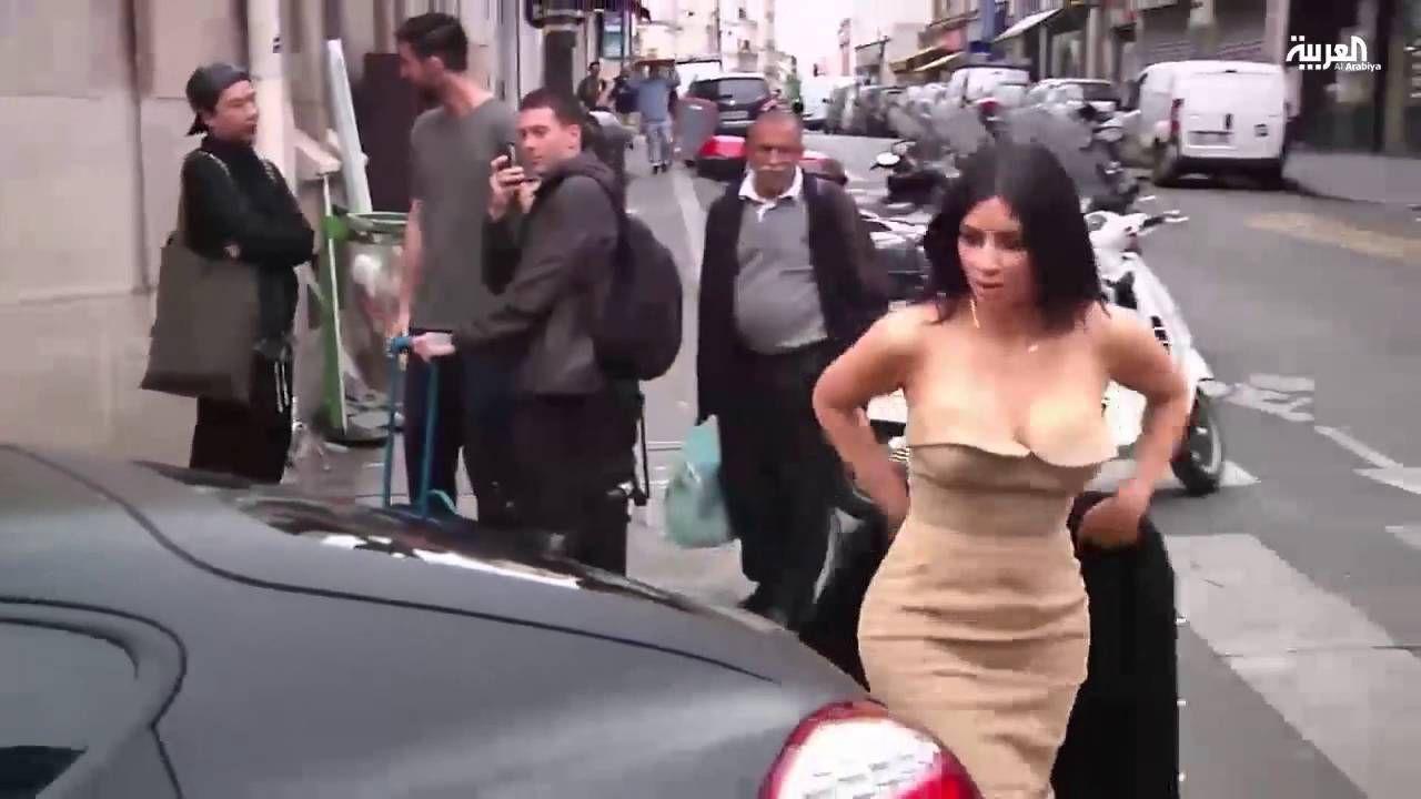بالفيديو ليلة رعب عاشتها كيم كردشيان في باريس Strapless Dress Formal Strapless Dress Formal Dresses