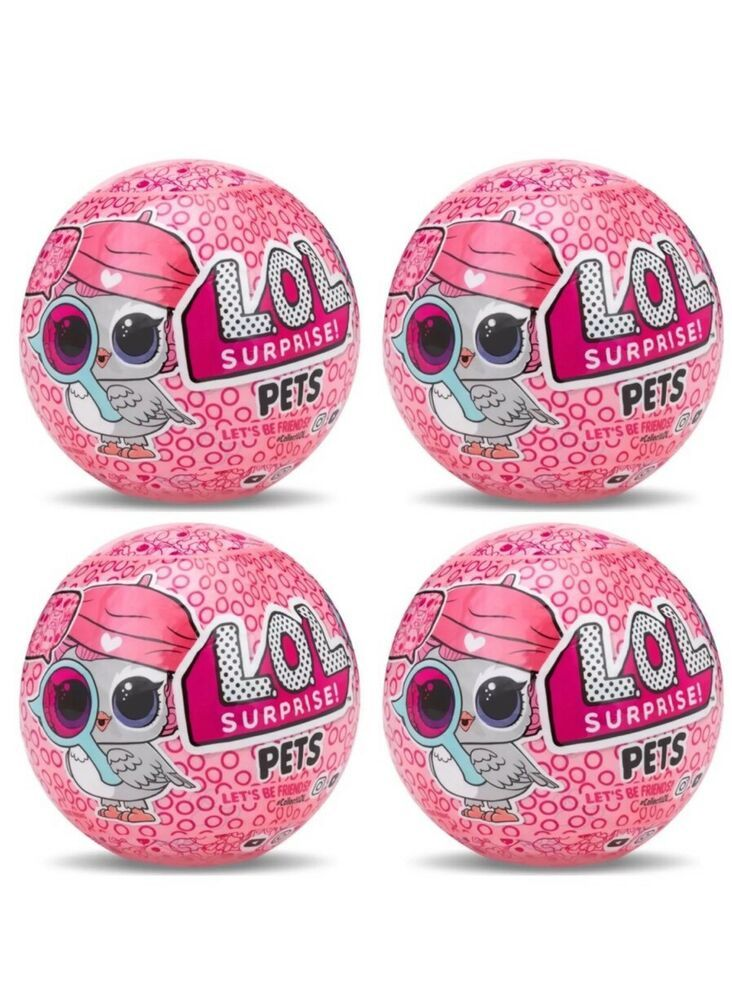 100/% Complete LOL PETS Purr Baby Pink Baby Dolls Pet Pets  Kitty Cat Doll L.O.L