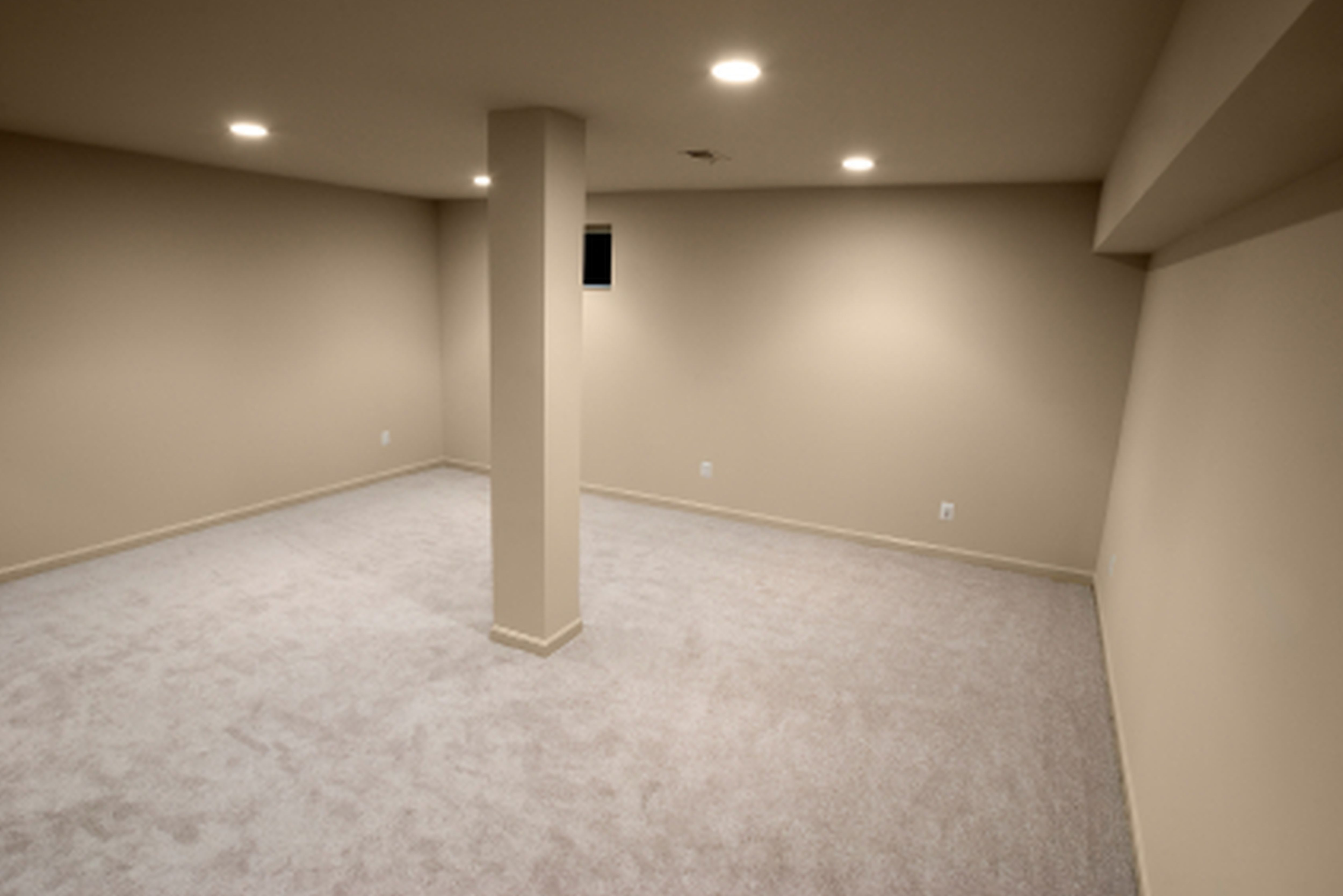 Amazing Basement Waterproof Paint Decorating Ideas interior painting concrete basement floor with white color plus wall and  ceiling with light brown interior color decor basement floor paint color  ideas