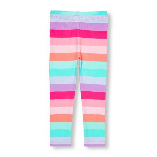 affd0bba59156 Toddler Girls Neon Rainbow Stripe Leggings | Products | Pinterest ...