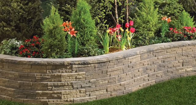 Anchor Block Products Ledgewall Retaining Wall System