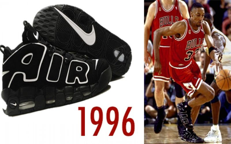 scottie pippin nike shoes 1996 postermywall poster 936654