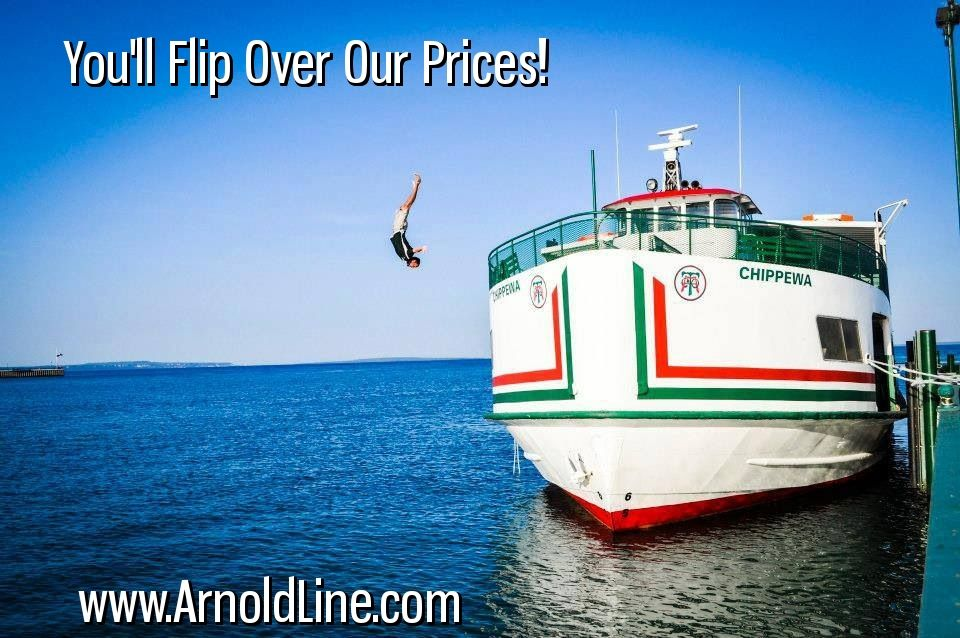 Arnold Mackinac Island Ferry Offers The Best Price For Your Ticket To Mackinac Island Michigan Enjoy A Cl Mackinaw City Mackinac Island Ferry Mackinac Island