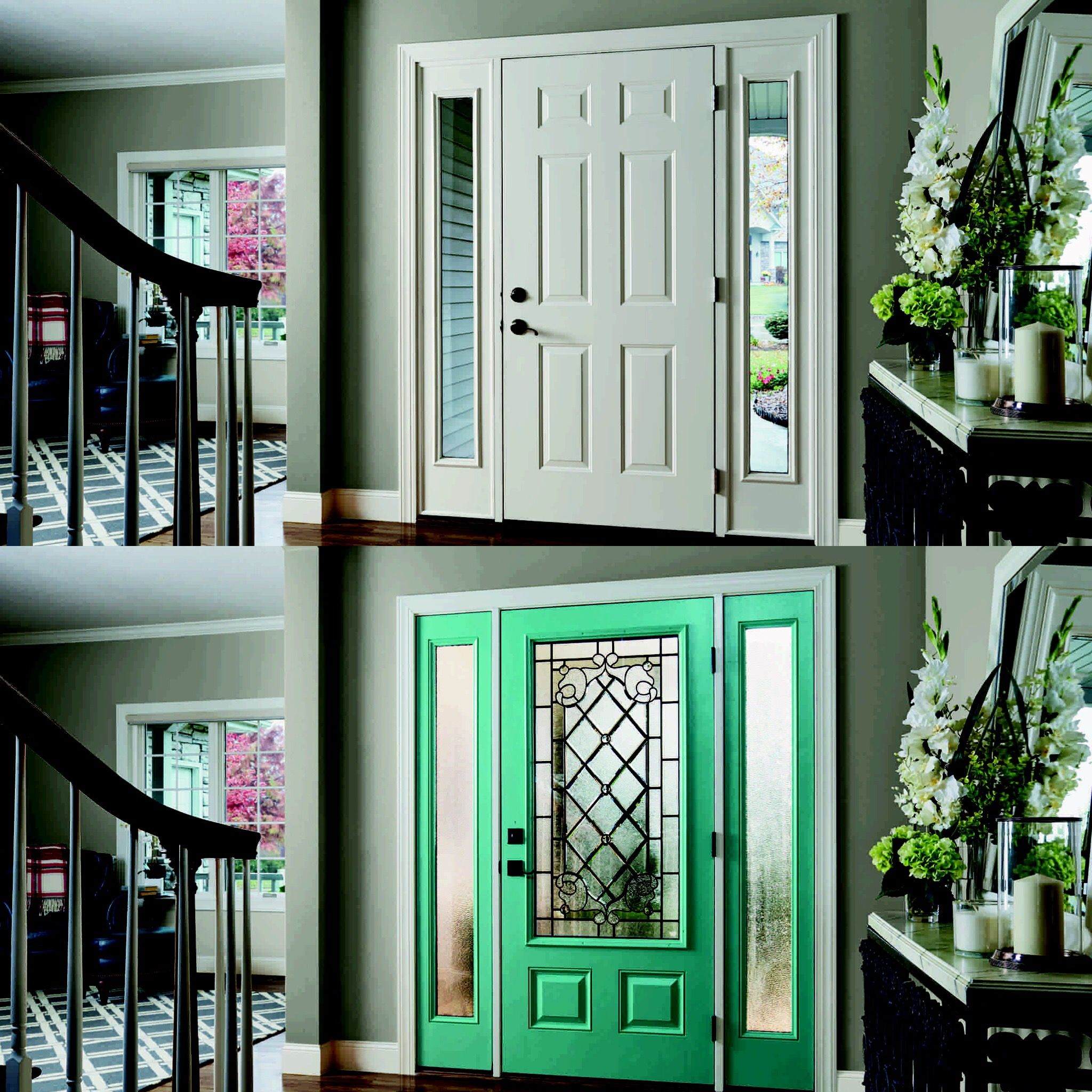 Add A Pop Of Color To Your Home With A Bold Entry Door
