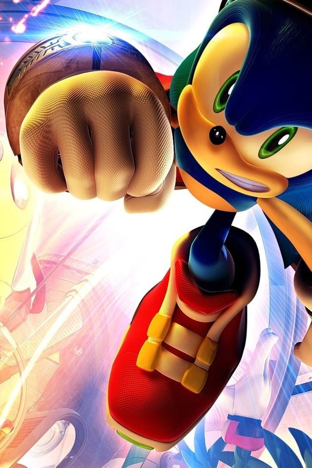 Hd 3d Cool Sonic Iphone 4 Wallpapers Backgrounds Cool