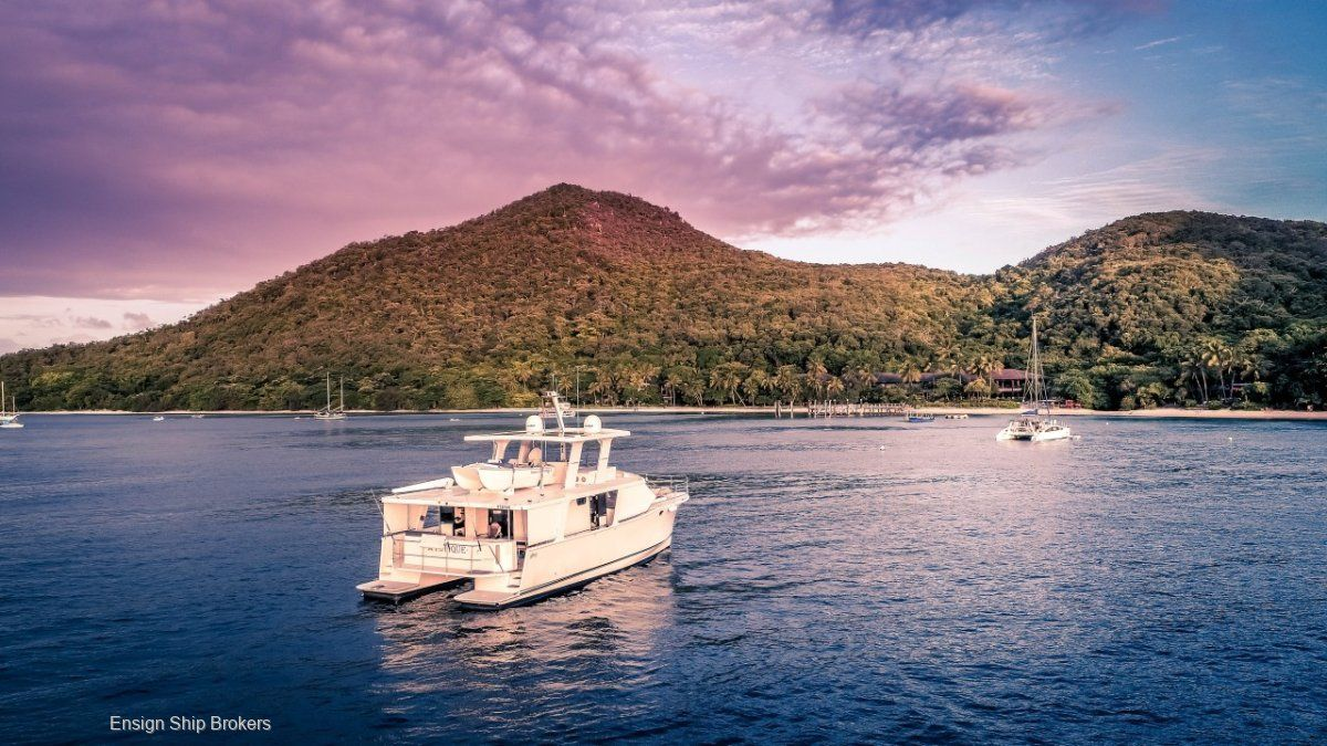 Bruce Harris Cat For Sale Ensign Yacht Brokers Yacht