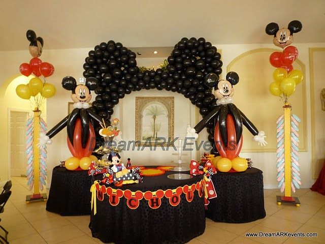 Decoracion con globos fiesta 1 a ito ni o resultados de for Decoracion con fotografias