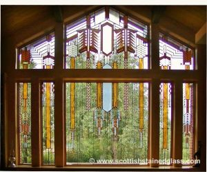 Stained Glass Window Gallery Colorado Springs Frank Lloyd Wright