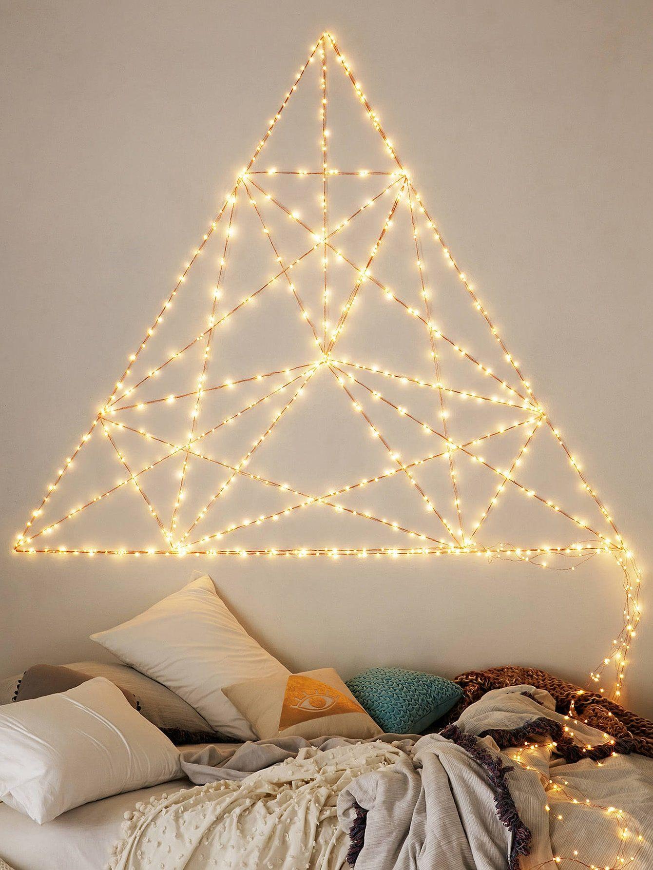 11+ Decoration guirlande lumineuse chambre ideas