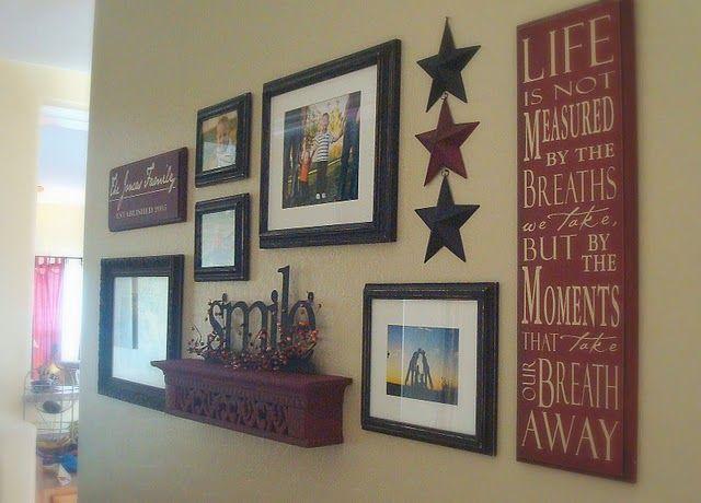 C.B.I.D.  HOME DECOR and DESIGN: HOME DECOR: CREATING GALLERY WALLS FOR ART & PHOTOS yournestdesign.blogspot.com #wallcollage