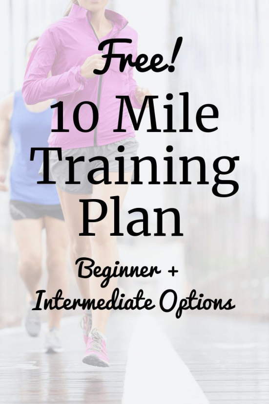 Looking for a new race training plan?  Why not try this 10 mile training plan!  Its a great challeng...