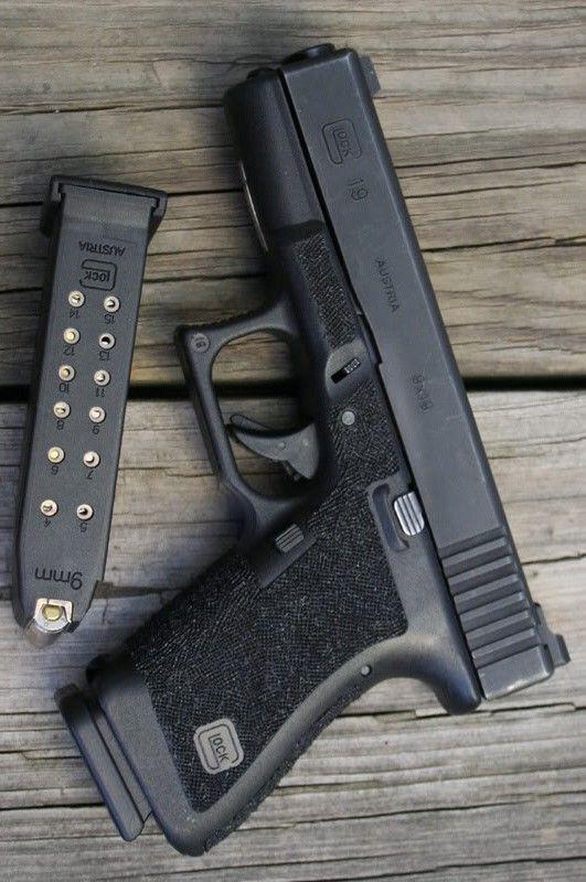 Glock 19 Gen  3 HANDGUN 9MM W2 15-ROUND MAGAZINES By Brownells