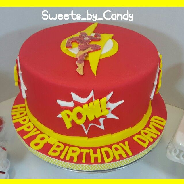 The Flash Cake Flashcake Sweetsbycandy Sweets By Candys