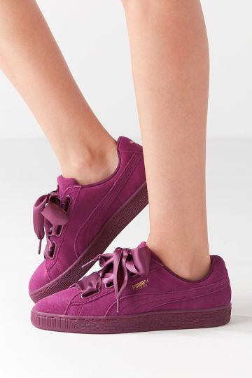 Heart SuedeSneakers Ii Puma Satin Suede SneakerShoes N0XOPw8nkZ