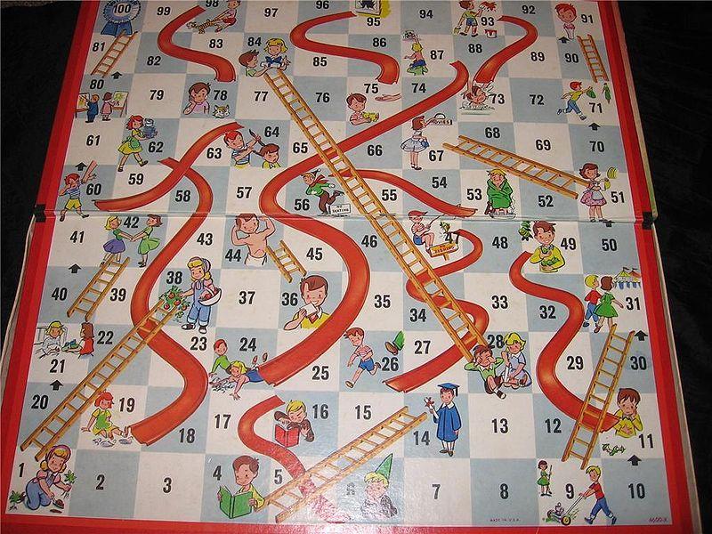 Cómo hacer un juego Serpientes y Escaleras (Snakes \ Ladders - new tabla periodica en juego didactico