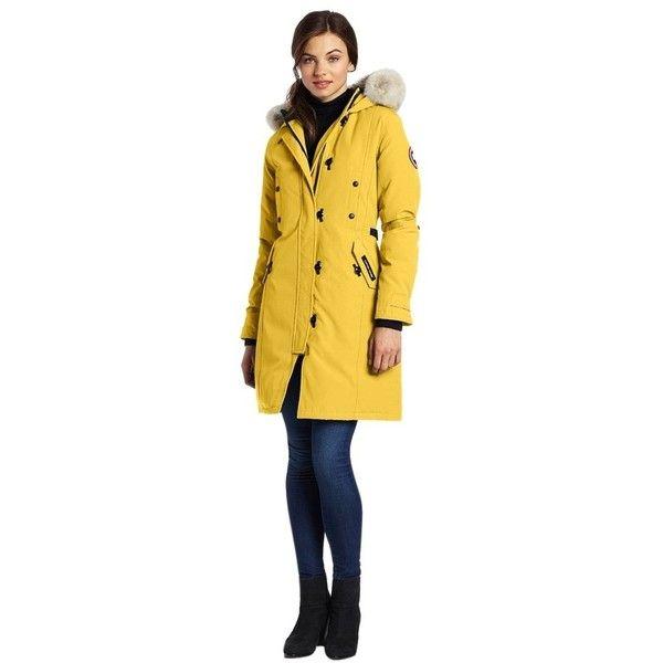 Pre-owned Canada Goose Kensington 2xl (xxl) Summer Light Parka Coat ( 600)  ❤ liked on Polyvore featuring plus size fashion e19ec81e34