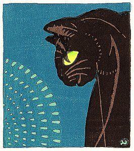 By Tomoo Inagaki - Black Cat