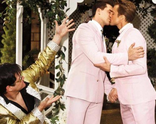 Las vegas gay wedding fashion photoshoot love keeps us for Gay wedding las vegas