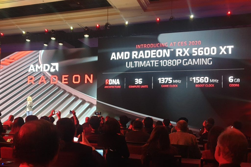 Radeon RX 5600 XT AMD launches 'ultimate 1080p graphics