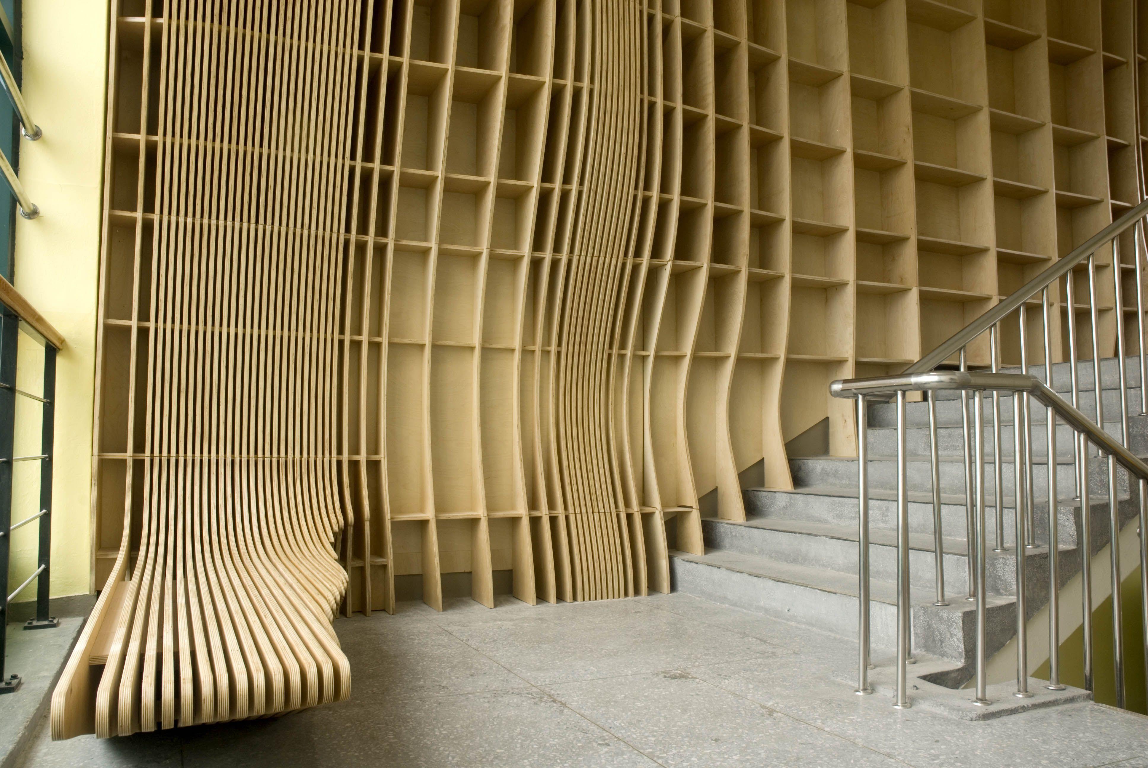 Wonder Architects, elementry school interior design with ...