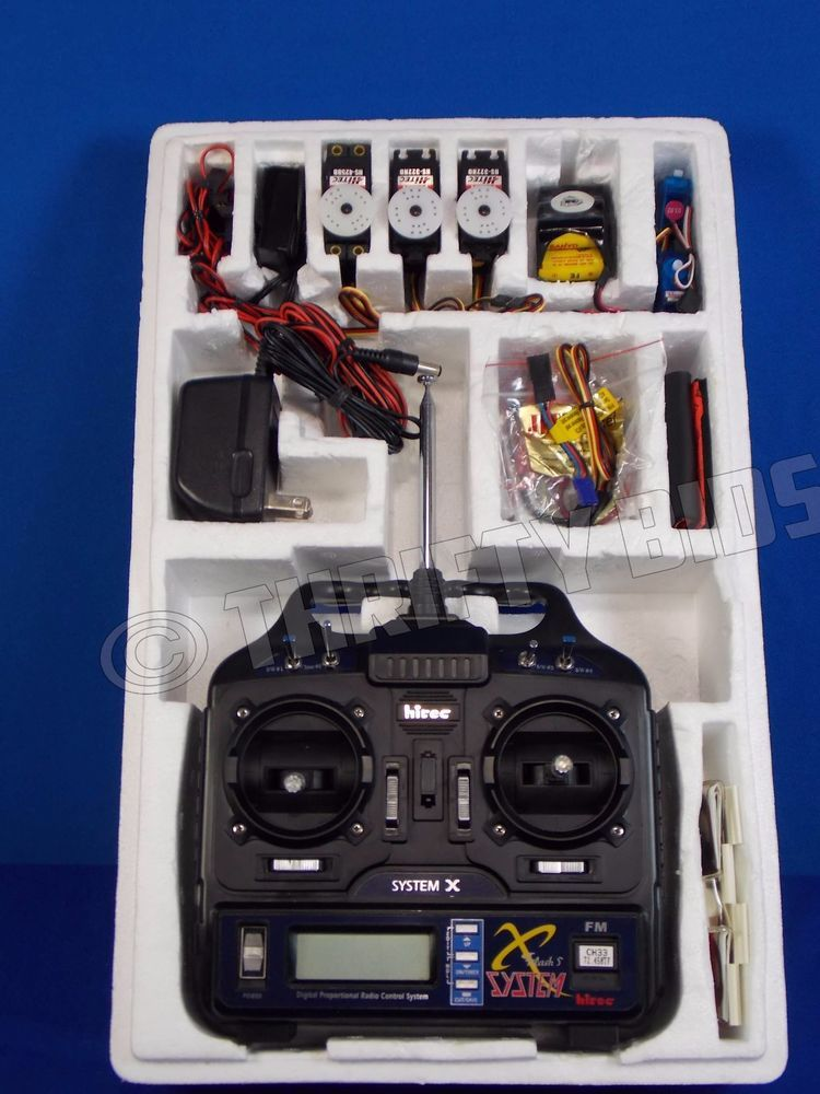 Hitec System X Flash 5 Digital Proportional Radio Control