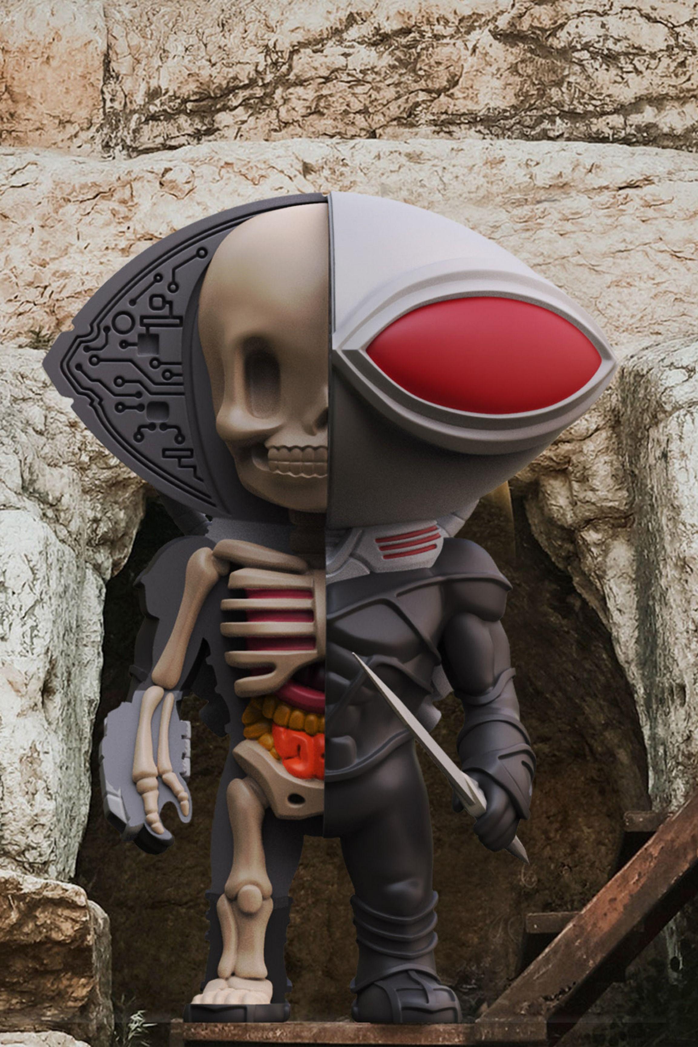 XXRAY Black Manta in 2019 | Designer Toys | Black manta