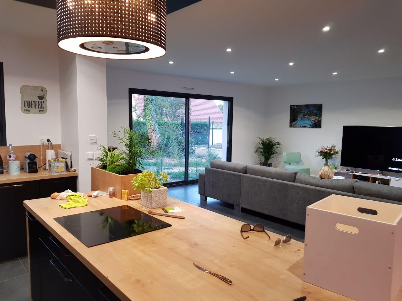 Salon - salle à manger 18m18 salon - salle à manger meubles en bois