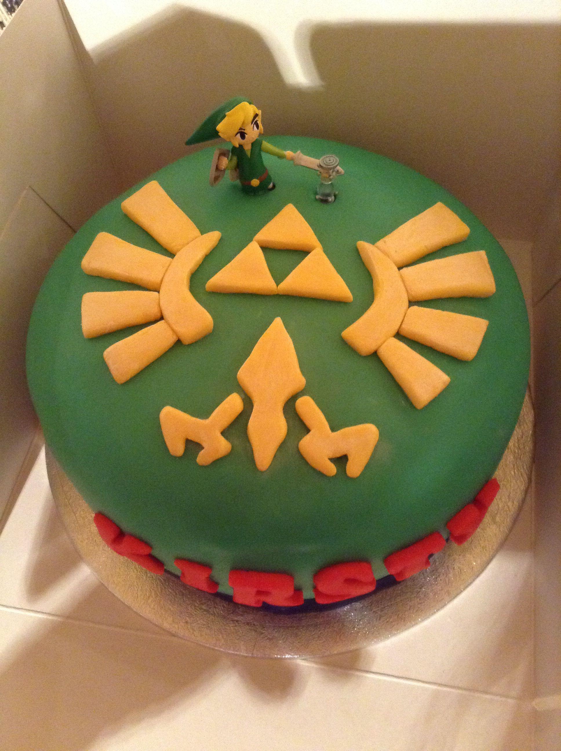 Legend of zelda cake grooms cake wedding cakes for Cocinar zelda