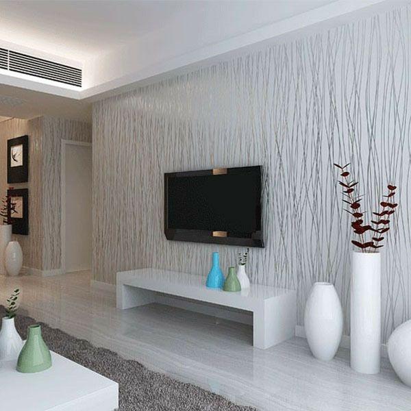 vliestapeten die frische ins wohnzimmer bringen - Tapete Wohnzimmer Hell