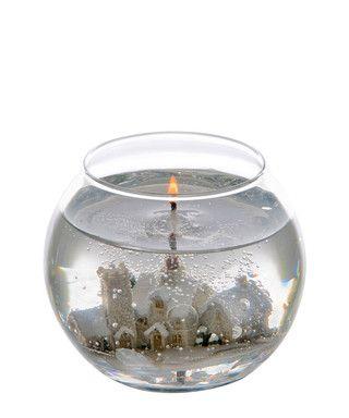 Winter Wonderland Gel Fishbowl Candle Sale Stoneglow Sale Gel Candles Jelly Candles Bowl Candle