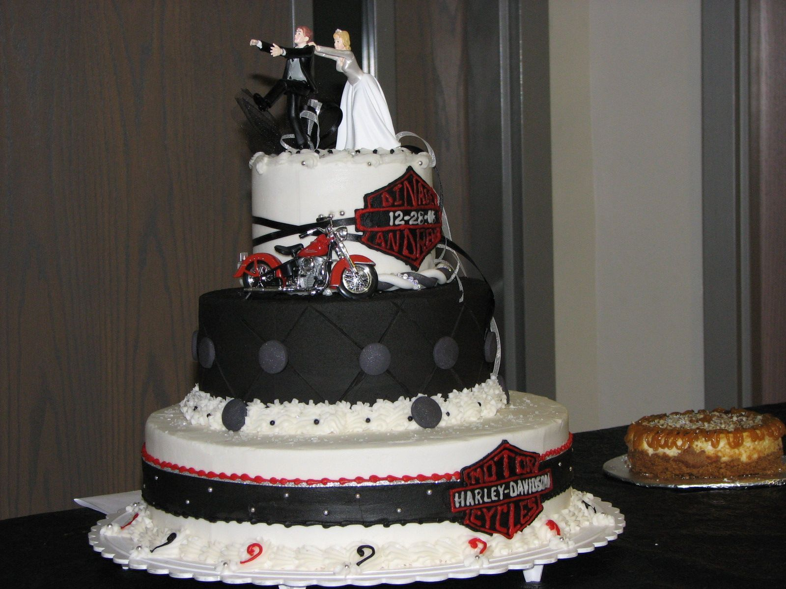 Harley Davidson Wedding Cake Toppers