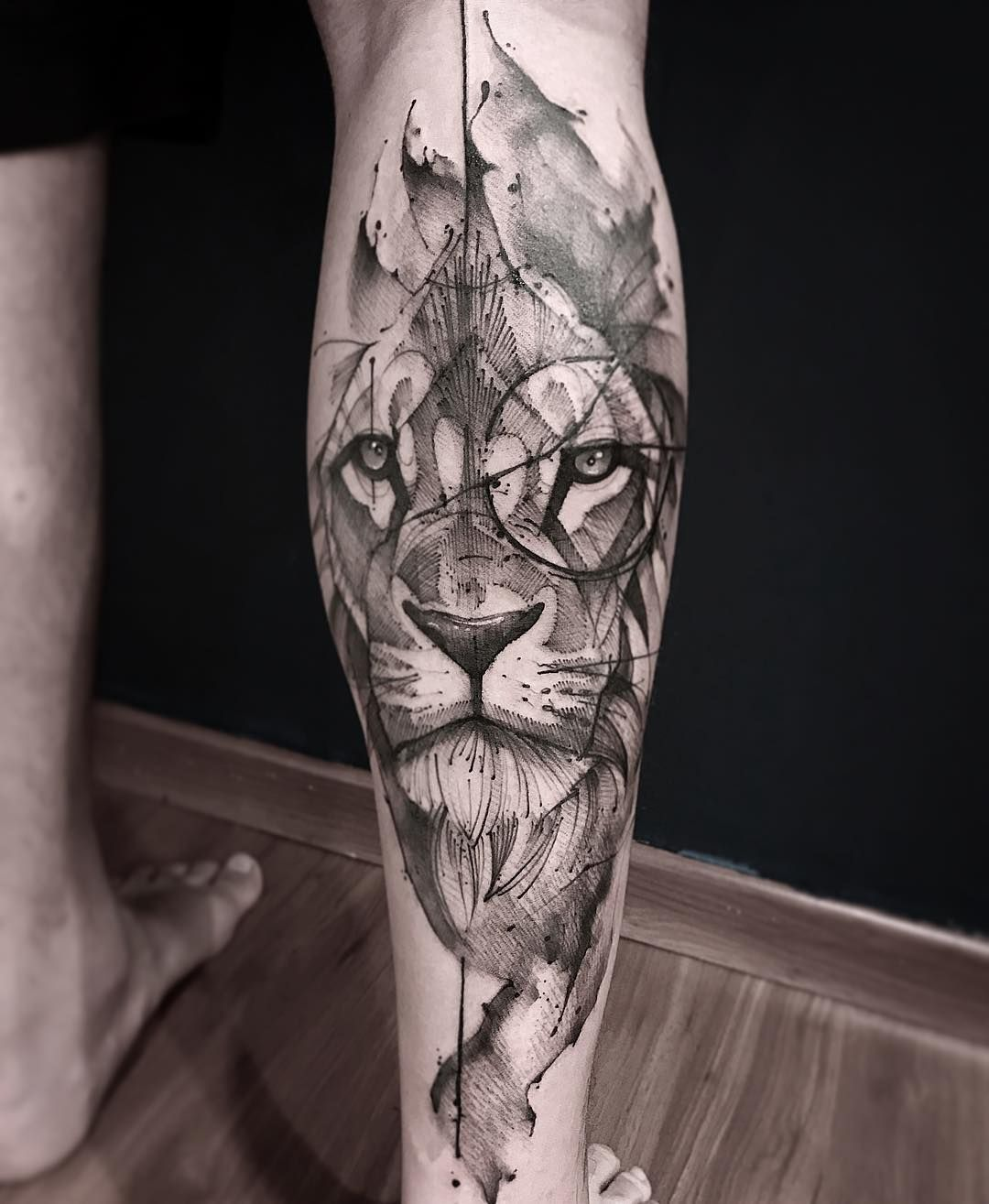 Pin By Sajee Deghlawi On Tatoo Pinterest Tatouage Lion Tatouage