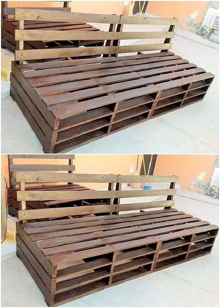 Wooden Pallet Furniture Making Ideas For Your Home Wooden Pallet