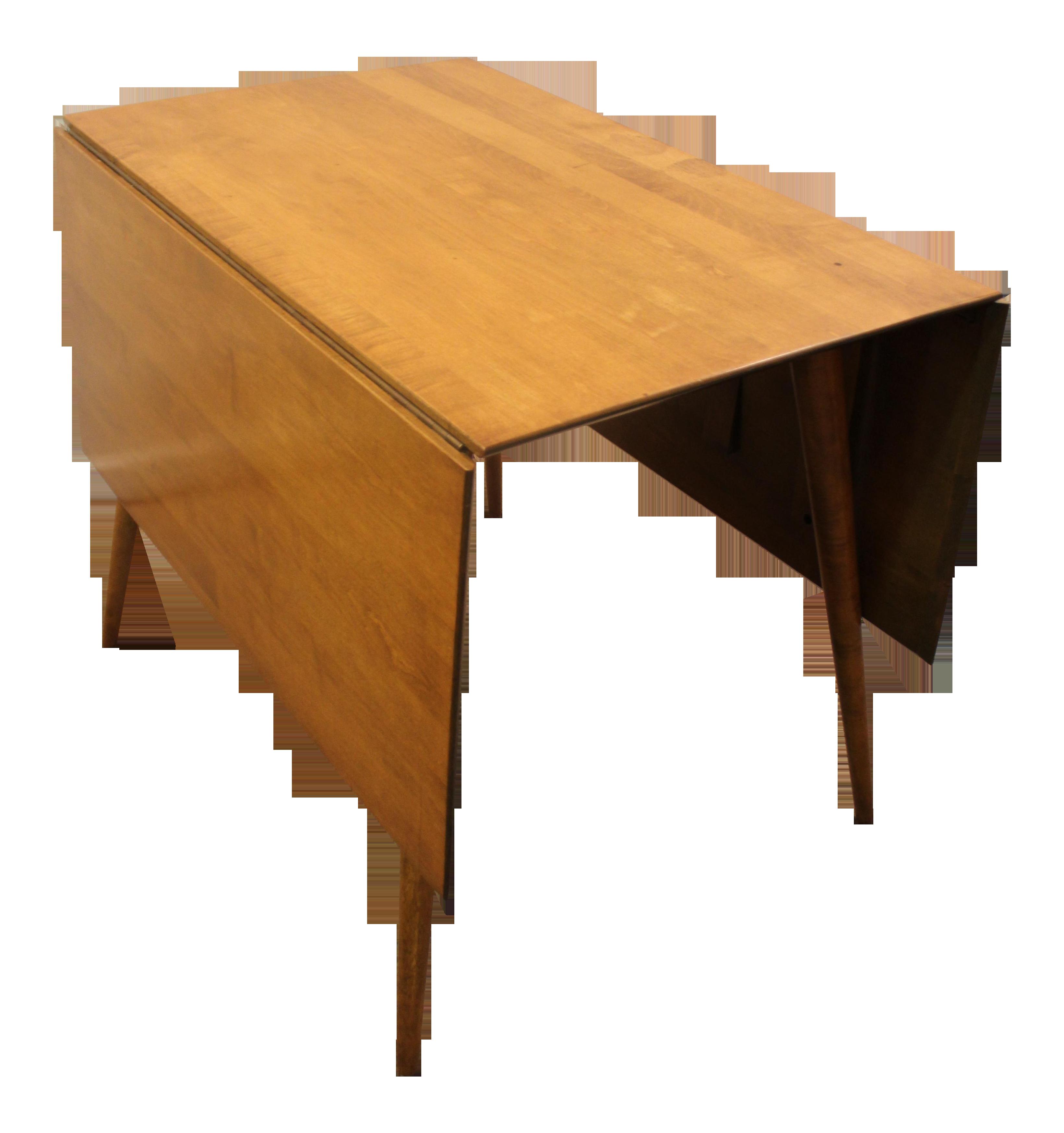 Paul Mccobb Mid Century Modern Drop Leaf Table Drop Leaf Table