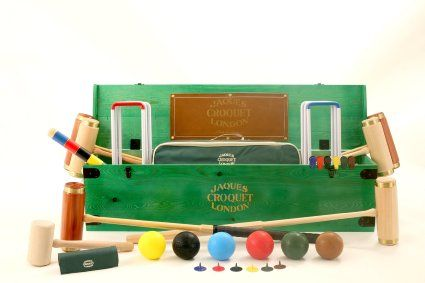 Croquet Set Luxury Full Size 6 Player Jaques Cheltenham Of London