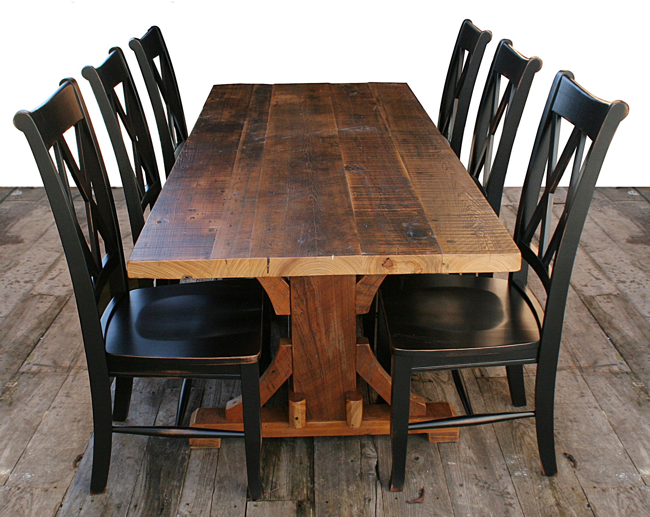 Cajun Timber Frame Tables | All Wood Furniture Incorporated ...