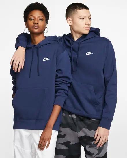 Photo of Nike Sportswear Club Fleece-Pullover mit Kapuze. Nike.com