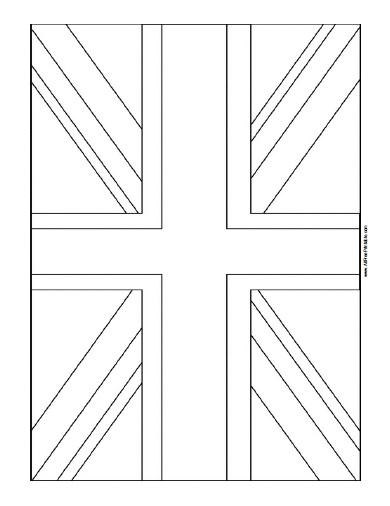 Free Printable United Kingdom Flag Coloring Page Flag Coloring Pages American Flag Coloring Page United Kingdom Flag