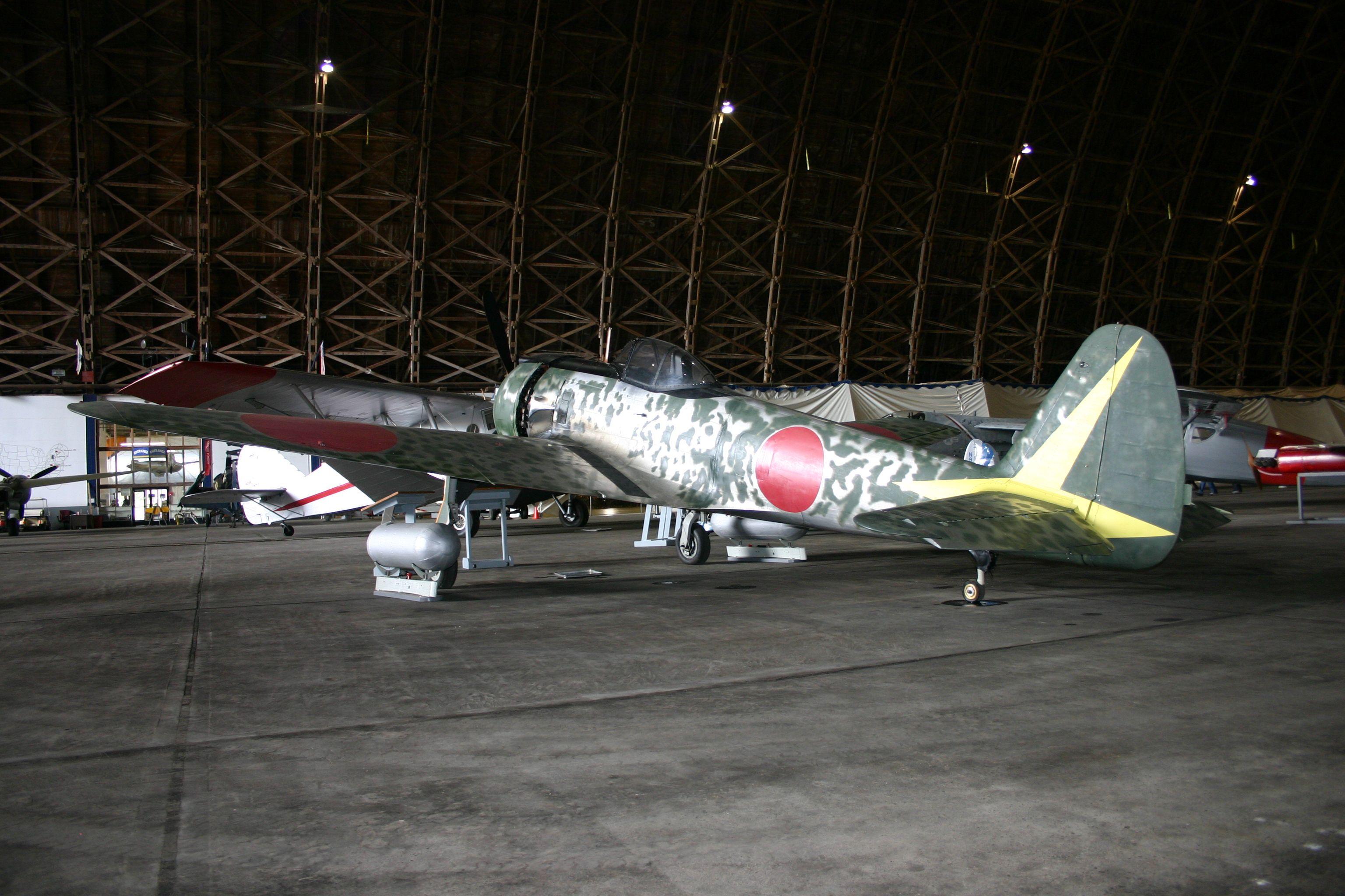 Nakajima Ki43 at the Tillamook Air Museum. Aircraft