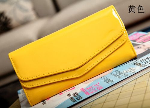 Fashion Envelope Style Womens Leather Long Purse Clutch Wallet Bags Handbag | eBay