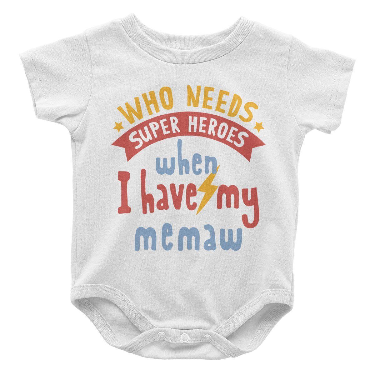 Who Needs Superheroes When I Have My Auntie Baby Vest Bodysuit