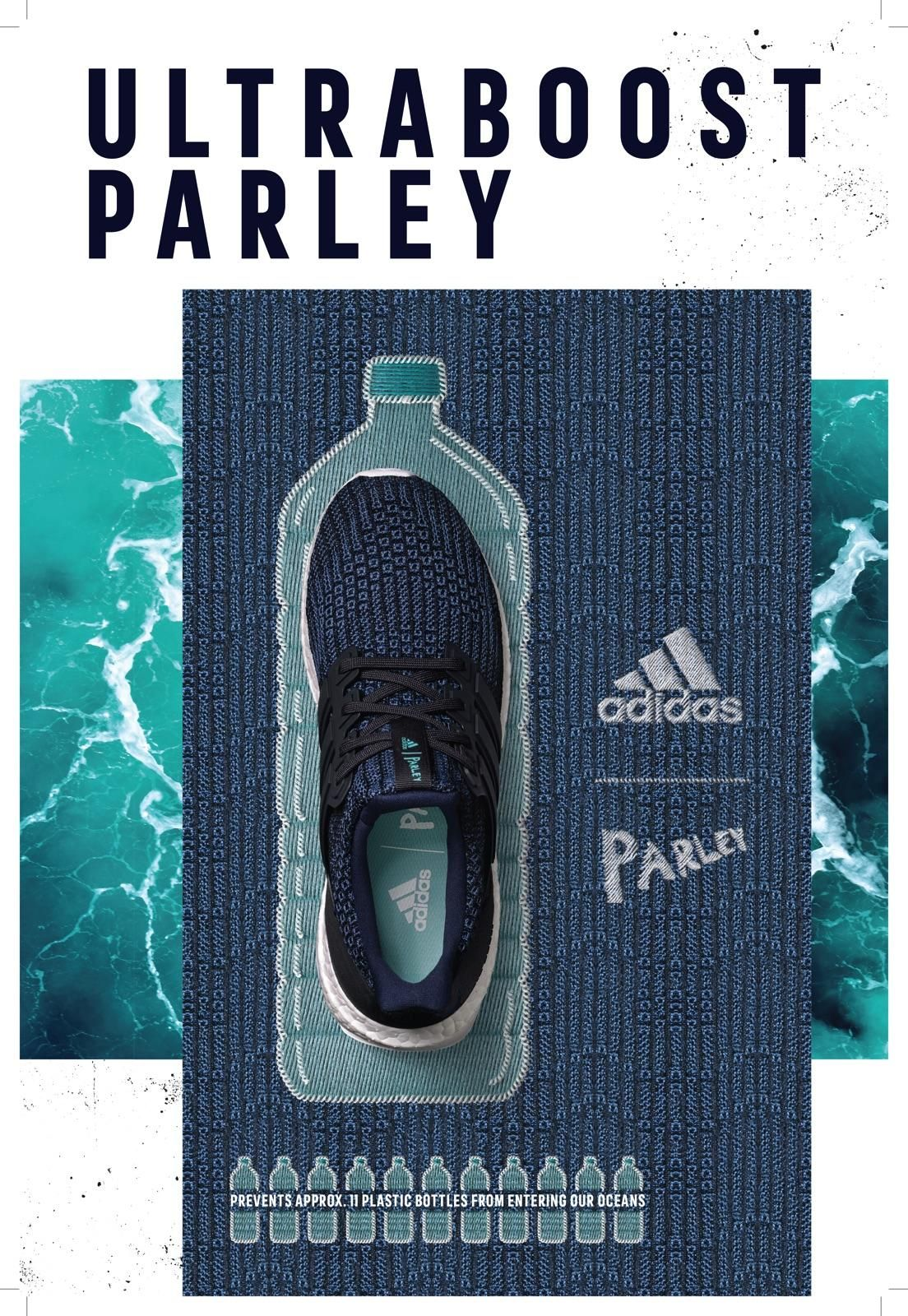 adidas UltraBoost Parley print ads | Communication Arts