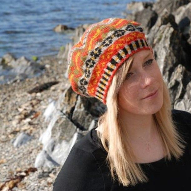 Gro's Fair Isle beret pattern available now on Emily Poleson ...