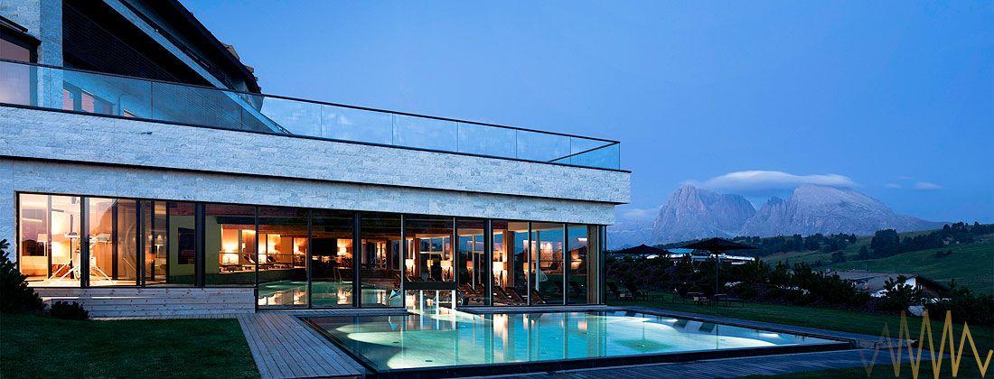 5 sterne wellness hotel seiser alm dolomiten s dtirol for Design wellnesshotel sudtirol