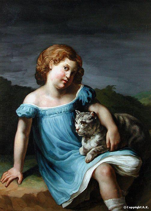 Jean-Louis-André-Théodore Géricault : Louise Vernet : Louise Vernet enfant (1814-1845) - Géricault - Musée du Louvre
