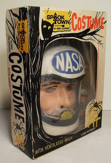 Image result for 1970s astronaught halloween costume